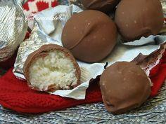 Cioccolatini gusto Bounty al cocco