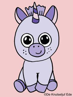 Kleurplaten eenhoorns unicorns | eenhoorns | knutselen | creatief | kleurplaat | kleurplaten | De Knutseljuf Ede Hello Kitty, Fictional Characters, Art, Kunst, Fantasy Characters, Art Education, Artworks