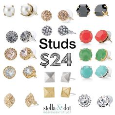The perfect stocking stuffers! Snag a pair for just $24 at www.stelladot.com/nayrobi and contact me to find out about this month's 50% off specials!