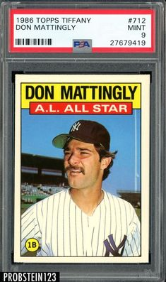 287 Best Donald Don Arthur Mattingly Donnie Baseball Images In