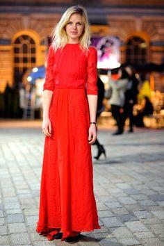 El street style de London Fashion Week Otono 2013