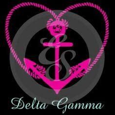 Sorority Style: Delta Gamma #custom #Greek #apparel #screenprint #design - Artwork | Explosion Greek Wear