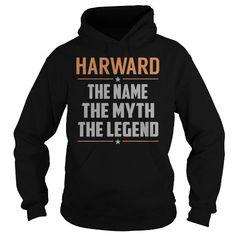 I Love HARWARD The Myth, Legend - Last Name, Surname T-Shirt Shirts & Tees