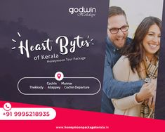 The honeymoon is the unforgettable period in a couple's life. Later in life, tried and tired in the dust and mist of relations, together or not, they would always miss that time they spent together. Every bit of it..  For booking : Call / Whatsapp : +91 9995218935, +91 9895999412 Website : www.honeymoonpackagekerala.in #honeymoon #couples #honeymoonkerala #Godwinholidays