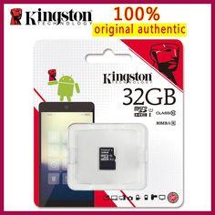Kingston Class 10 Micro SD Card 32GB Memory Card Mini SD Card SDHC Tarjeta Microsd TF Card for Smartphone