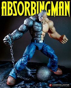 Absorbing Man (Marvel Legends) Custom Action Figure by LooseCollector