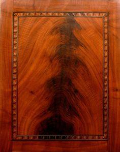 faux painted mahogany