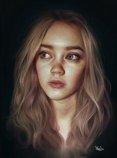 ARTIST SPOTLIGHT: Elena Sai. Amazing #portrait #art