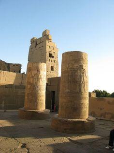 temple of kom ombo. aswan