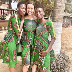 The real reason I was in Africa? The 19th Birthday 🎂of these gorgeous twins!! We've corresponded for the last decade, but meeting them showed how truly beautiful they are—open, creative, musical, loving, smart, and resilient (recovering from a recent Moto crash). Their neighbor made us matching dresses (How did it fit me?!), and after spending time with the family, we headed to the water. 💦  Lome, Togo