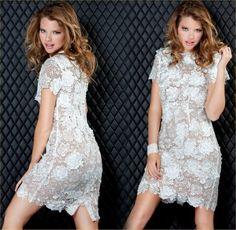 vestido de renda !!!!!! maravilhoso!!!