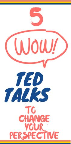 TED Talks: Top 5 Inspirational Talks You Should Watch