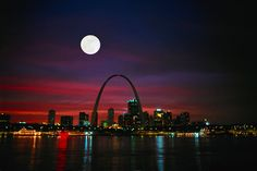 the beauty that is the St. Louis skyline, home sweet home