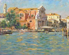 View Our Full Collection of Artwork by LEONARD WREN. Visit the gallery or browse online. The Art Shop ships worldwide. Duck Art, Water House, World Pictures, Wren, Beautiful Paintings, American Artists, New Art, Picture Video, Venice