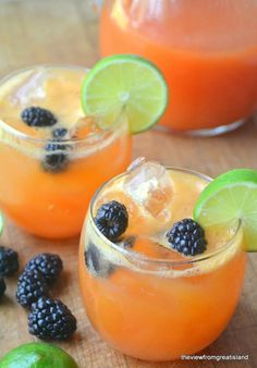 Minimal Monday: Papaya and Lime Agua Fresca - The View from Great Island