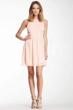 BB Dakota Sleeveless Fit & Flare Dress | Nordstrom Rack