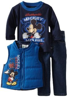 Mickey Mouse Award Winner Vest Set: Clothing