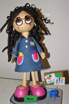 Le Petite Vintage: Fofucha Maestra Escuela Infantil Rosa.