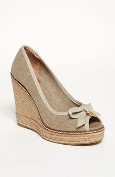 PLEASE PLEASE PLEASE, size 7   Tory Burch 'Jackie' Wedge available at #Nordstrom