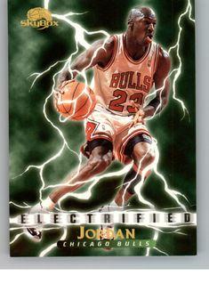 1995-96 Skybox Premium Electrified #278 Michael Jordan  - Ideas of Michael Jordan #MichaelJordan