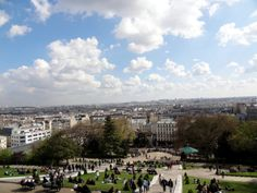 "See 12098 photos from 76240 visitors about scenic views, steps, and stairs. ""Amazing views of the city from the top of Montmartre hill. Sunny Days, Travelling, Dolores Park, Stairs, Europe, City, Stairway, Staircases, Cities"