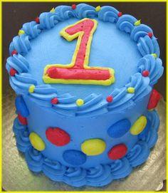 Boy 1st Birthday Smash Cake | baby s birthday cake the smash cake is a 4 round two layer chocolate ...