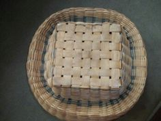 "1910 Wabanaki Native American sewing basket. Made with tiny splints from the Ash tree, and thick Bentwood is used to make the rim strong. The ""boats"" for buttons and other sewing materials were woven and lashed to the four sides of the basket, but after awhile the woman would take the boats out to make more room in the sewing basket. Because of this, there are not many of this kind of sewing baskets still intact with no damage. This is one of my favorite baskets in my private collection."