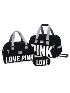 Victoria's Secret PINK 3-piece Travel Set #VictoriasSecret http://www.victoriassecret.com/pink/accessories/3-piece-travel-set-victorias-secret-pink?ProductID=72135=OLS?cm_mmc=pinterest-_-product-_-x-_-x