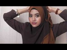 I'd love this one! #22 Hijab Tutorial (Paris / Square Scarf) - Natasha Farani