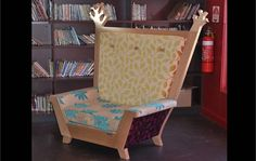 Makers Lane :: Library Reading Chair Custom Made, Bespoke Furniture made in Australia. Extension Ideas, Bespoke Furniture, Furniture Making, Your Space, Accent Chairs, Custom Design, Dressing, Australia, Fresh