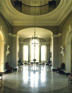CLASSICAL / TRADITIONAL ARCHITECT - JULIAN BICKNELL & ASSOCIATES - HENBURY ROTUNDA - CHESHIRE PALLADIAN COUNTRY HOUSE