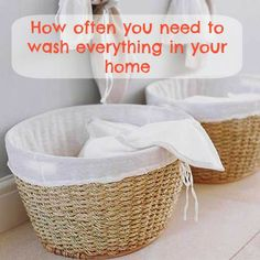 Spring cleaning guide: How often you REALLY need to wash everything in your home (your sheets, bras, jeans, car and more!)