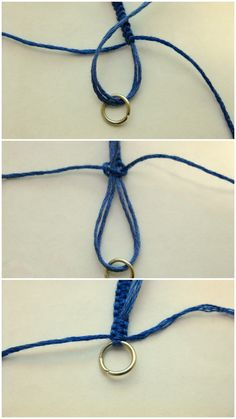"how to put ""real"" fasteners on friendship bracelets"