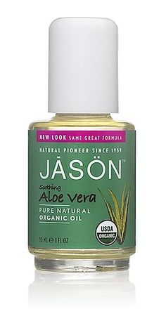 Jason Natural Cosmetics Soothing Aloe Vera Organic Oil