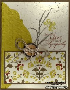Comfort & Sympathy by Michelerey - Cards and Paper Crafts at Splitcoaststampers