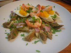 salade thaïe - aubergines à la braise