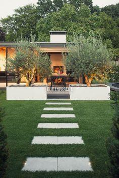 Garden Design Backyard - New ideas Backyard Patio Designs, Backyard Landscaping, Back Gardens, Outdoor Gardens, Patio Grande, Interior Garden, Dream Garden, Garden Projects, Garden Inspiration