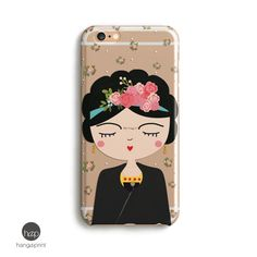 iPhone 7 plus case clear Frida Kahlo Case Iphone 6 by hangAprint