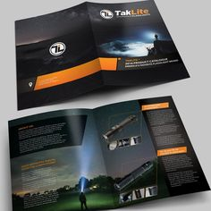 Product Catalog Design For Flashlight Company by Arttero
