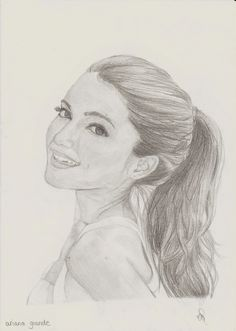 Portret of Ariana Grande ~ Made by Celyn