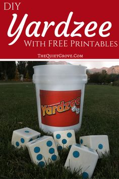 DIY Yardzee (outside yahzee game)