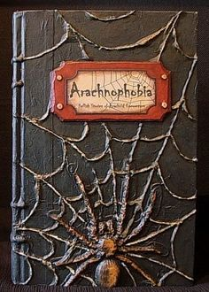 SPIDERS! Another tutorial for a Halloween altered book.Here is the link for the INSTRUCTIONS Here is the link for the GRAPHICS