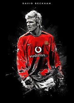 Get your metal poster on DISPLATE now and get discount up to Manchester United Poster, David Beckham Manchester United, Manchester United Wallpaper, Football Art, Football Players, David Beckham Wallpaper, David Beckham Football, Ronaldinho Wallpapers, Football Pictures