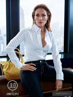 Jennifer Lopez in Kohl's September 2015 Photo Shoot
