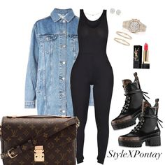 date dress outfit Cute Swag Outfits, Classy Outfits, Stylish Outfits, Fall Outfits, Fashion Outfits, Curvy Fashion, Love Fashion, Womens Fashion, Long Denim Jacket