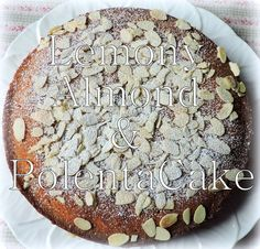 Lemony Almond and Polenta Cake, Gluten Free - blogs de Recipes