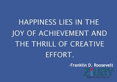 #Happiness #Ziuby #Quotes #Creative #Achievement http://www.ziuby.com/