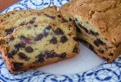 Lemon Blueberry Zucchini Bread*