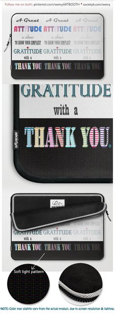 Gratitude ~ Xmas Spirit Quote Laptop Sleeve by weivy Spirit Quotes, Presents For Friends, Good Cause, Sleeve Designs, Laptop Skin, Ipod Touch, Ipad Case, Tech Accessories, Laptop Sleeves