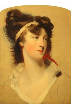 Henrietta Sebright (1770–1840), Countess of Harewood by Thomas Lawrence (after). Date painted: early 19th C. National Trust Collection.
